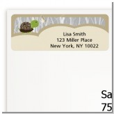 Turtle Neutral - Birthday Party Return Address Labels