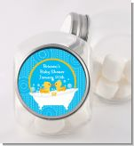 Twin Duck - Personalized Baby Shower Candy Jar
