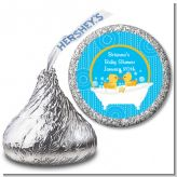 Twin Duck - Hershey Kiss Baby Shower Sticker Labels