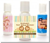 Twin Lions - Personalized Baby Shower Lotion Favors