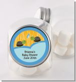Twin Turtle Boys - Personalized Baby Shower Candy Jar