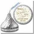 Twinkle Little Star - Hershey Kiss Baby Shower Sticker Labels thumbnail
