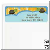 Twin Turtle Boys - Baby Shower Return Address Labels