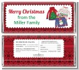 Ugly Sweater - Personalized Christmas Candy Bar Wrappers thumbnail