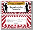 Vintage Magic - Personalized Birthday Party Candy Bar Wrappers thumbnail