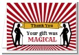 Vintage Magic - Birthday Party Thank You Cards thumbnail