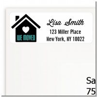We Moved - Real Estate Return Address Labels