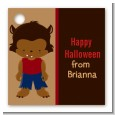 Werewolf - Personalized Halloween Card Stock Favor Tags thumbnail