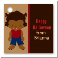 Werewolf - Personalized Halloween Card Stock Favor Tags