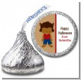 Werewolf - Hershey Kiss Halloween Sticker Labels thumbnail