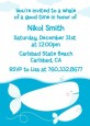 Whale Of A Good Time - Birthday Party Invitations thumbnail