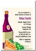 Wine & Cheese - Bridal Shower Petite Invitations