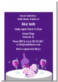 Wine Tasting - Bridal Shower Petite Invitations
