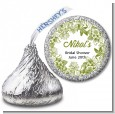 Winery - Hershey Kiss Bridal Shower Sticker Labels thumbnail