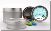Winter Wonderland - Custom Christmas Favor Tins