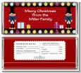 Wooden Soldiers - Personalized Christmas Candy Bar Wrappers thumbnail