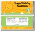 You Are My Sunshine - Personalized Birthday Party Candy Bar Wrappers thumbnail
