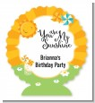 You Are My Sunshine - Personalized Birthday Party Centerpiece Stand thumbnail