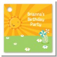 You Are My Sunshine - Personalized Birthday Party Card Stock Favor Tags thumbnail
