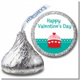 Your So Sweet Cupcake - Hershey Kiss Valentines Day Sticker Labels