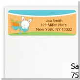 Bunny | Libra Horoscope - Baby Shower Return Address Labels