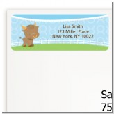 Bull | Taurus Horoscope - Baby Shower Return Address Labels