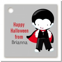 Dracula - Personalized Halloween Card Stock Favor Tags